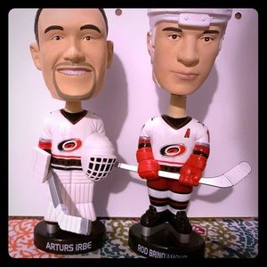 Carolina hurricane bobble heads